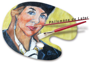 Philomene de Later, kunstenares