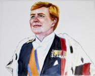 Willem-Alexander by Philomene de Later