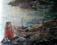 De Brear olietanker liep op de klippen milieuramp was het gevolg