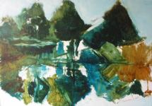 schilderij is uit een serie van drie